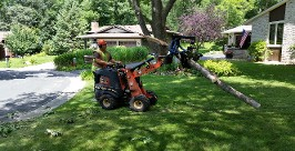 Ditch Witch R300 loader